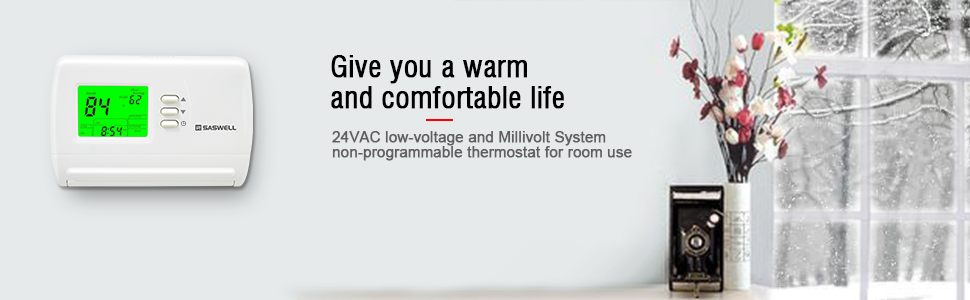 Give you a warm and comfortable life 2 stage thermostat thermostat 2 wire heat only hvac thermostats