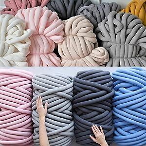 Tube cotton yarn