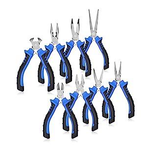 Mini Alicates Punta Redonda Joyería Alambre de abalorios Hobby Craft haciendo herramientas hágalo usted mismo 218