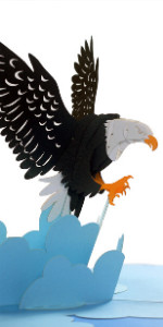 Eagle Popup Card