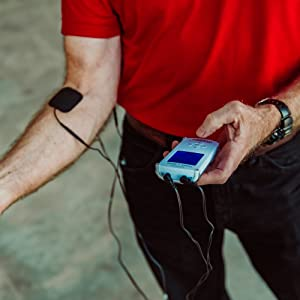 FDA Cleared iReliev TENS Unit + EMS 14 Therapy Modes, Premium Pain Relief and Recovery System,