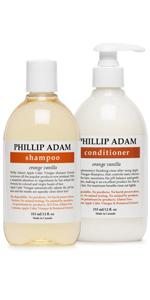 orange vanilla shampoo and conditioner