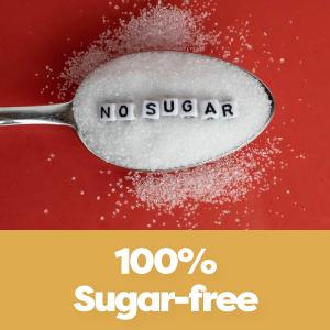 100% Sugar Free
