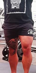 Pantalones cortos.
