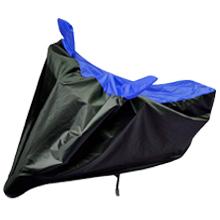 black blue waterproof bike body cover