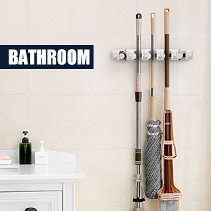 broom holder wall mount