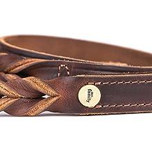 Ascot leather leash