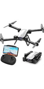 Flashandfocus.com b5f37318-7585-4b25-8a30-06690d505740.__CR0,0,150,300_PT0_SX150_V1___ SIMREX X300C Mini Drone RC Quadcopter Foldable Altitude Hold Headless RTF 360 Degree FPV Video WiFi 720P HD Camera 6…
