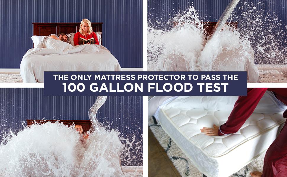 Amazon Com Ultra Plush 100 Waterproof Premium Mattress