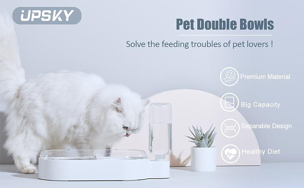 pet double bowl