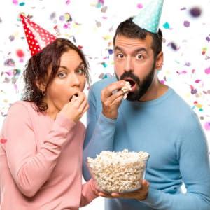 Couple Birthday Popcorn