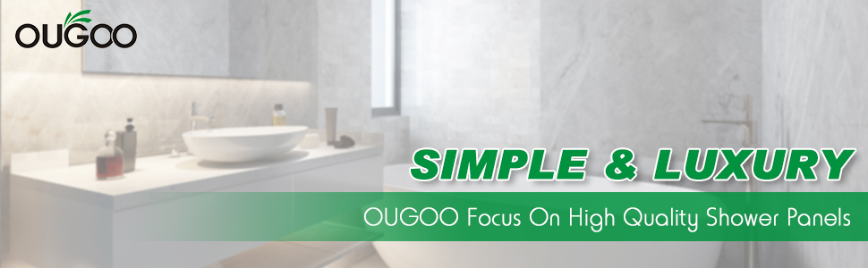 ougoo shower panel