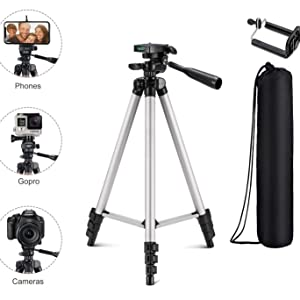 Tygot tripod for mobile camera dslr with holder