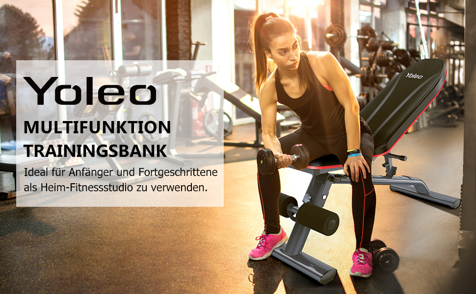 YOLEO Multifunktion Training Hantelbank