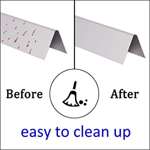 Stainless Steel Flavorizer Bars Are Easy to Clean