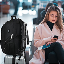 high school student backpack bag. Spacious Compartment could make your school supplies tidy