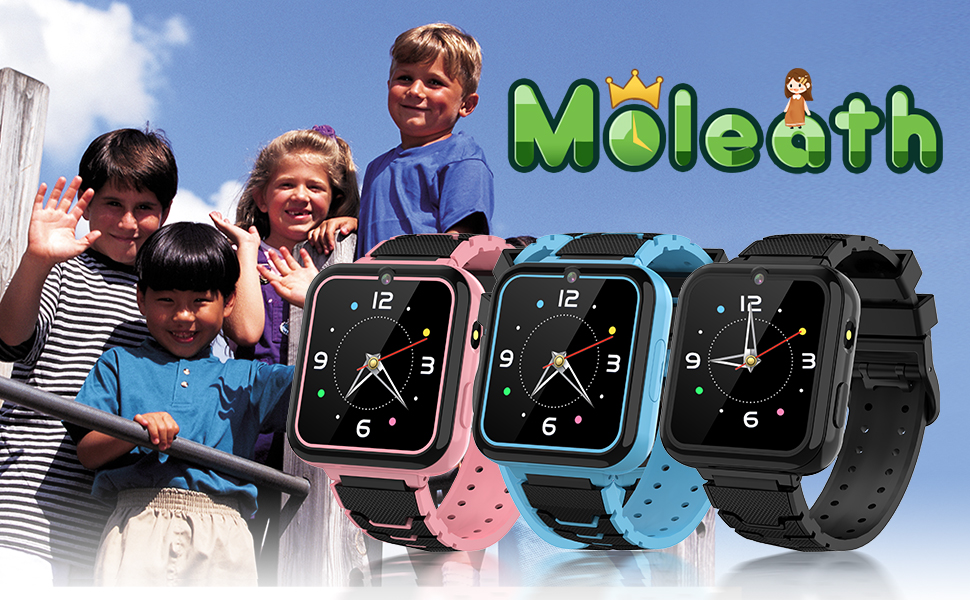 moleath  kids smartwatch