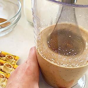 dalgona, coffee, instant coffee, sugar