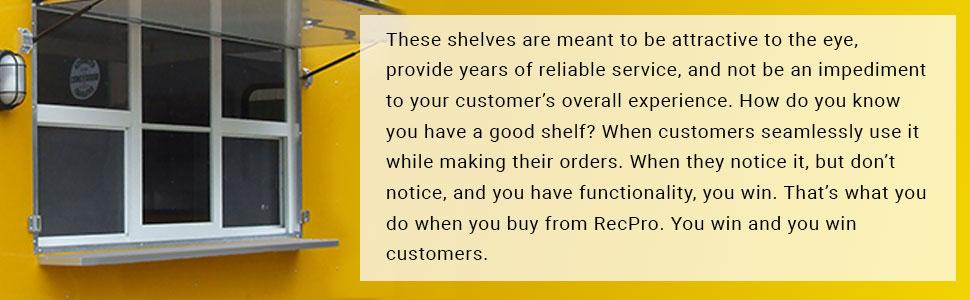 Concession Shelf
