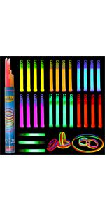 52 Pcs Glow Sticks