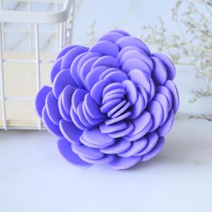 Belle éponge de douche en forme de fleur
