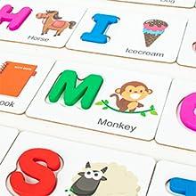 Youwo  alphabet letter puzzle