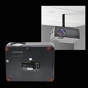 Compatible con instalacion a techo, base, mesa, keystone digital multiangulo, 50 grados