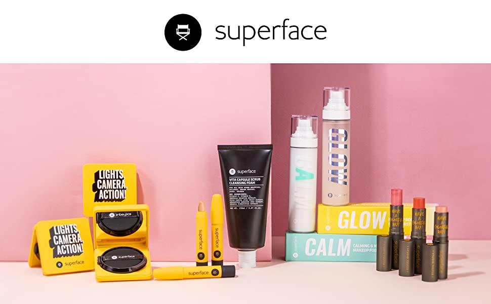 Superface all natural paraben free korean makeup cosmetics