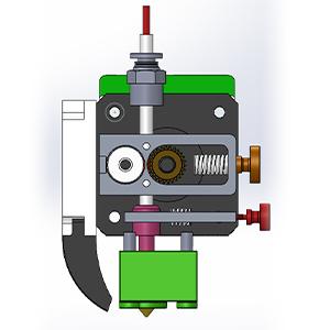 single printing mode