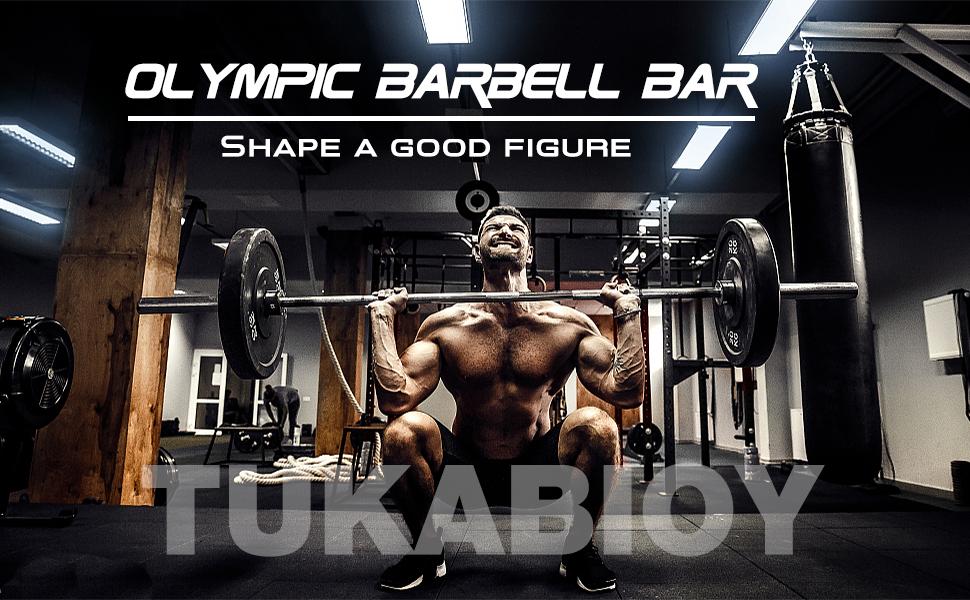 Olympic barbell bar
