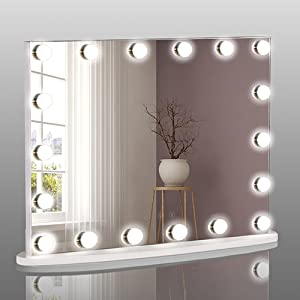HD lighted mirror