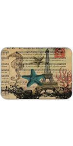 Vintage Paris Dish Drying Mat