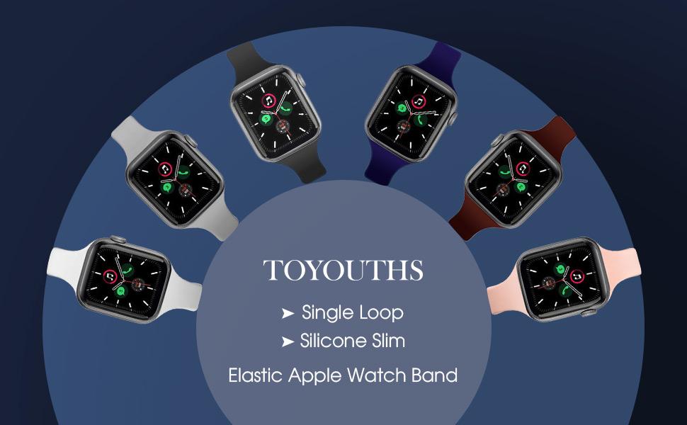 Single Loop Apple Watch Band