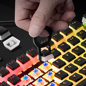 keycaps with puller