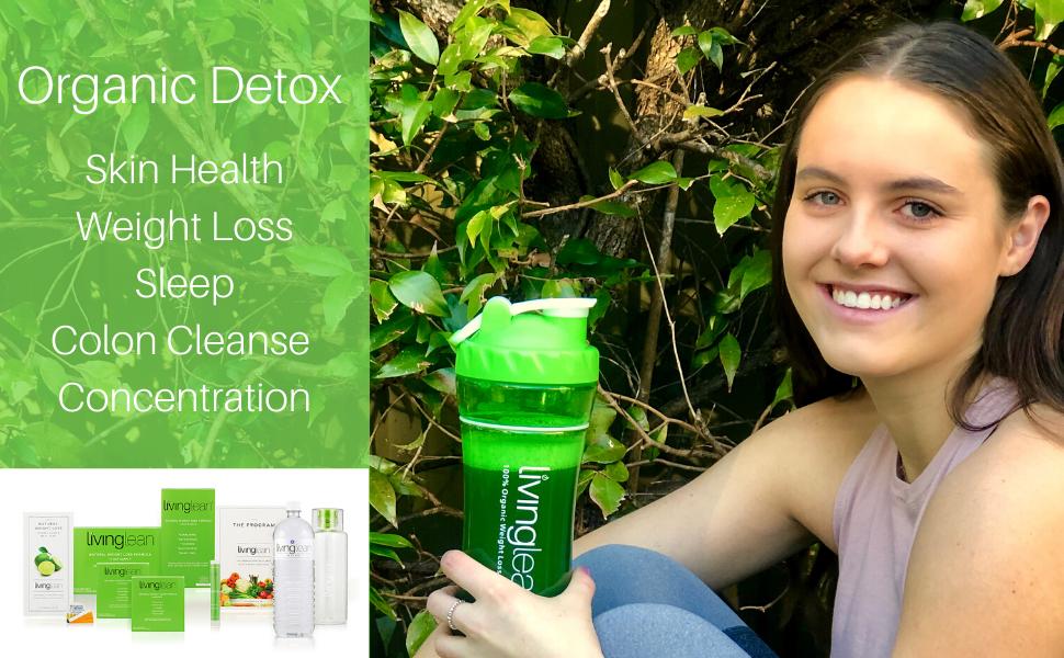 Fat loss weight loss detox cleanse health organic fast health greens spirulina