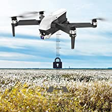 Flashandfocus.com b64b7e5b-e178-4716-9a17-37910820da03.__CR0,0,300,300_PT0_SX220_V1___ SIMREX X20 GPS Drone with 4K HD Camera 2-Axis Self stabilizing Gimbal 5G WiFi FPV Video RC Quadcopter Auto Return Home…