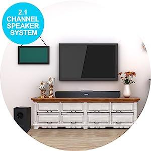 2.1 Channel Sppeaker System