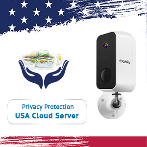 Laview security camera outdoor rechargeable battery powered wifi cameras wireless outdoor camera