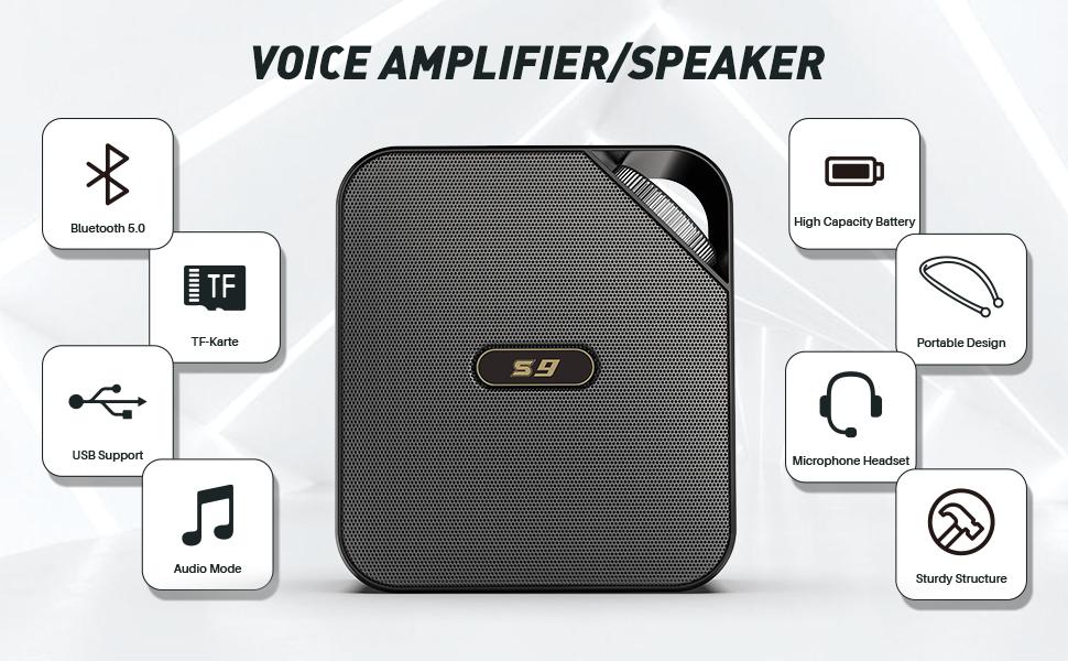 voice amplifier teachers