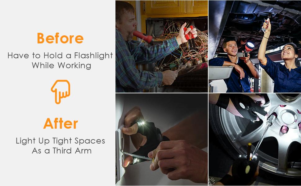 LED Light Gloves Gifts for Men and Women