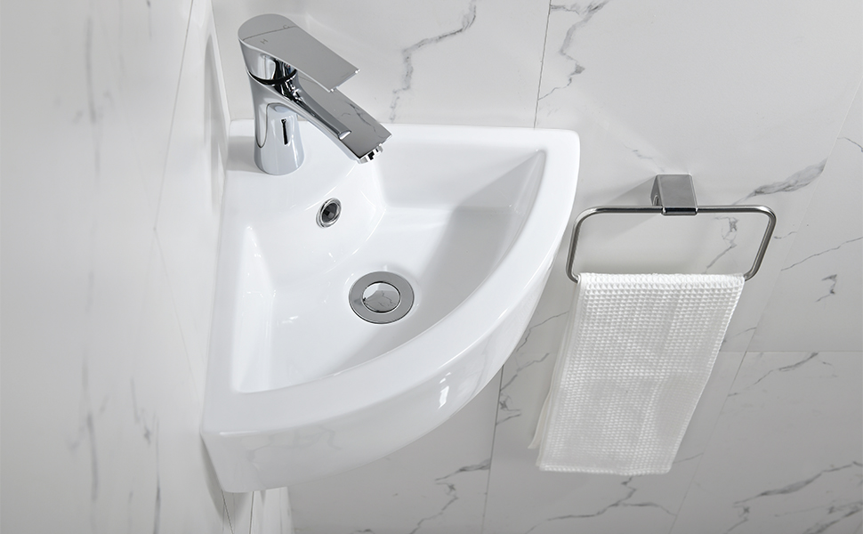 corner vessel sink