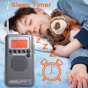alarm clock RADIO RECEIVER