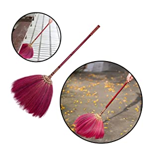 Thai Natural Grass Broom cover dye fabric color grass