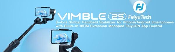feiyutech vimble2S gimbal stabilizer for samrtphone iphone satbilizer iphone gimbal phone stabilizer