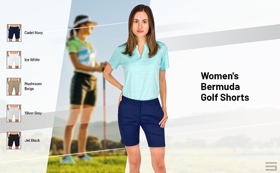 Quick Dry Casual Bermuda Shorts