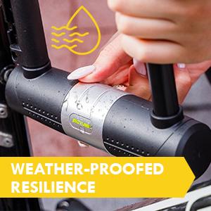 SIGTUNA U-lock I Model Wodan bike locks bicycle weatherproof waterproof
