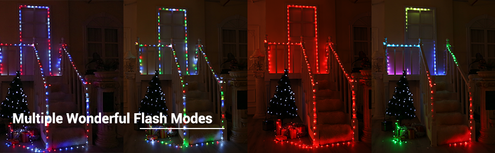 multicolor christmas lights