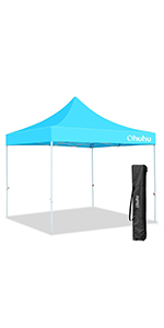 10 x 10 ft canopy tent blue