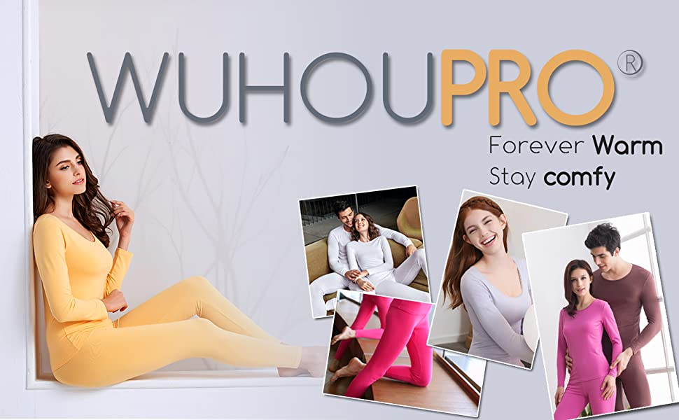 WUHOUPRO Women's Thermal Underwear Set