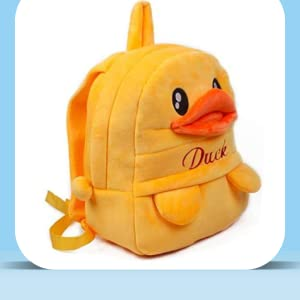 Soft Toy School Bag Backpack for Kids 3 to 5 Years, Girls, Boys, Children Best Birthday Gift for Kid
